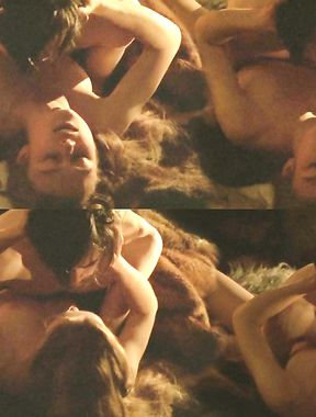 Keira Knightley shows naked boobs