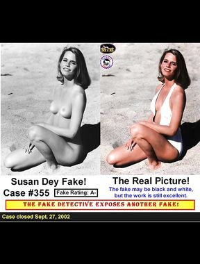 Susan Dey hairy vintage cunt