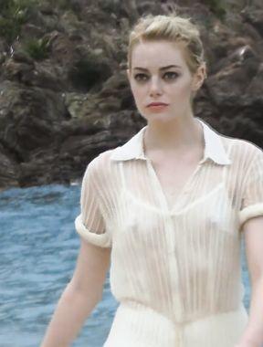 Emma Stone sexy