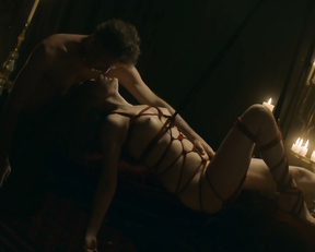 Bella Heathcote nude – Strange Angel s02e03 (2019)
