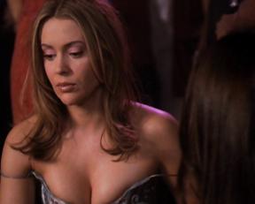 Alyssa Milano sexy – Charmed s03e07-22 (2000)