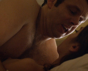 Lizzy Caplan naked – Masters of Sex s03e09 (2015)