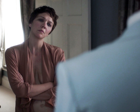 Maggie Gyllenhaal underwear – The Honourable Woman s01e02 (2014)