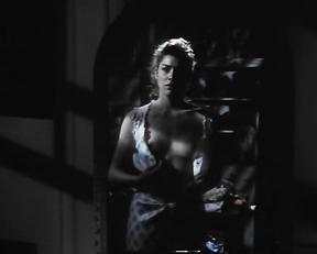 Sharon Stone topless – Scissors (1991)