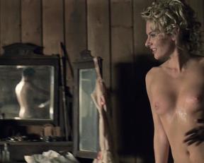 Jackie Moore nude – Westworld s01e01 (2016)