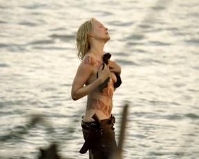 Ingrid Bolso Berdal nude – Westworld s01e04 (2016)