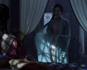 Olivia Cheng nude – Marco Polo s01e04 (2014)