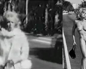 Madonna nude - Hitchhiking
