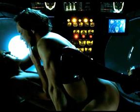 Malin Akerman nude - Watchmen