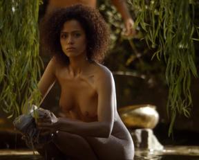 Nathalie Emmanuel nude - Game Of Thrones
