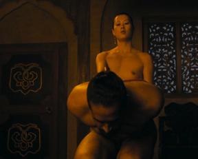 Olivia Cheng nude – Marco Polo s02e05 (2016)
