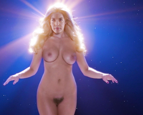 Anna Sophia Berglund topless – Space Station 76 (2014)