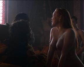 Josephine Gillan, Kristen Gillespie – Game of Thrones s04e01 (2014)