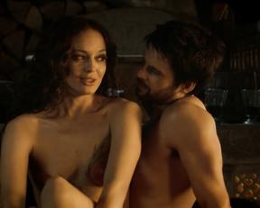 Laura Haddock nude – Da Vinci's Demons s01 (2013)