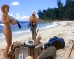 Amanda Donohoe naked - Castaway (1986)