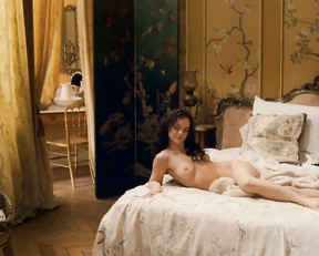 Uma Thurman nude in film Bel Ami (2012)