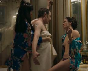 Levana Laverdure, Sara Giacalone, Toni Collette topless - Birthmarked (2018)