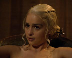 Emilia Clarke - Game of Thrones (s03 e08, 2013)