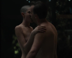 Asia Kate Dillon naked - Billions s03e05 (2018)
