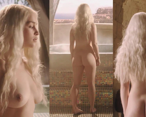All Of Emilia Clarke's Plot In Game Of Thrones S1-S7, At Highest Vid Quality - Film nackt