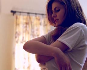 Alexandra Daddario From True Detective - Film nackt