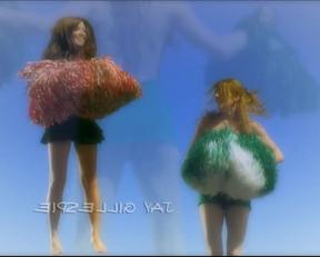 Maura Murphy + Others' Bouncy Trampoline Plots In '#1 Cheerleader Camp' - Film nackt