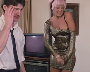 Delia Sheppard's Thong In Sexbomb - Film nackt